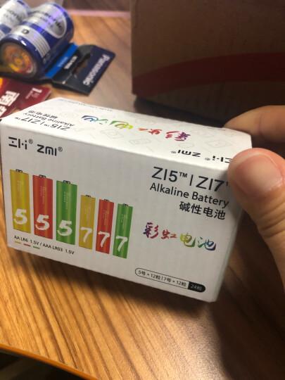 ZMI (紫米)9V碱性电池1粒装/遥控玩具/烟雾报警器/无线麦克风/万用表/遥控器/话筒电池 晒单图