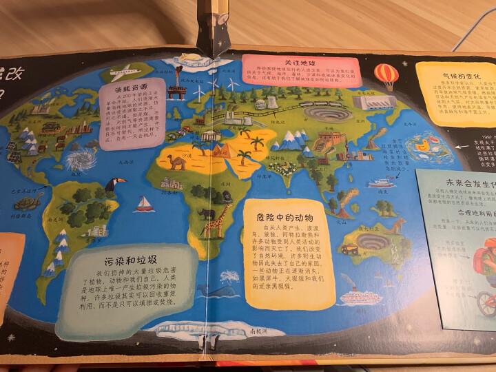 趣味科普立体书:世界是如何开始的 晒单图