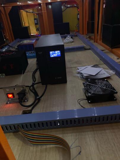 克雷士ups不间断电源S3000VA1800W家用办公电脑服务器稳压器3KVA应急备用电源防停电 晒单图