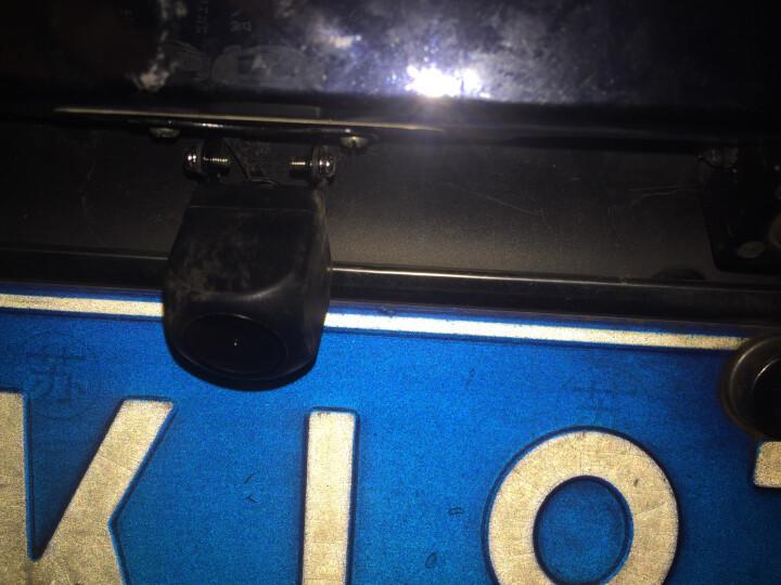 通用CCD AHD鱼眼超高清倒车摄像头 安卓大屏倒车影像车载后摄像头 微光星光夜视广角 16G-SD大卡(送双地图+免费升级1年) 晒单图
