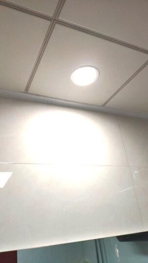 欧普照明 led筒灯3w超薄桶灯8公分客厅吊顶天花灯过道嵌入式洞灯5w孔灯 【基础PC款】【筒灯】象牙白7-8cm暖白 晒单图