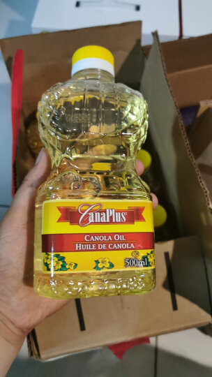 加拿大原装进口 Canaplus 非转基因芥花籽油 低芥酸菜籽油 3L桶装食用油 晒单图