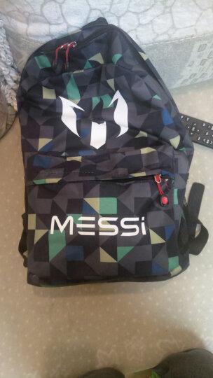 AOTU MESSI双肩包定制 巴萨罗那球迷背包男女学生球队书包电脑包足球包球鞋包 蓝白格 均码 晒单图