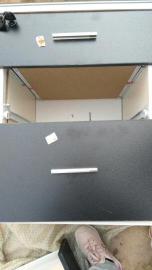 办公柜移动文件柜办公柜子带锁矮柜落地柜移动 三抽活动柜办公柜子储物柜 办公室柜子床头柜带锁员工柜 白色 晒单图
