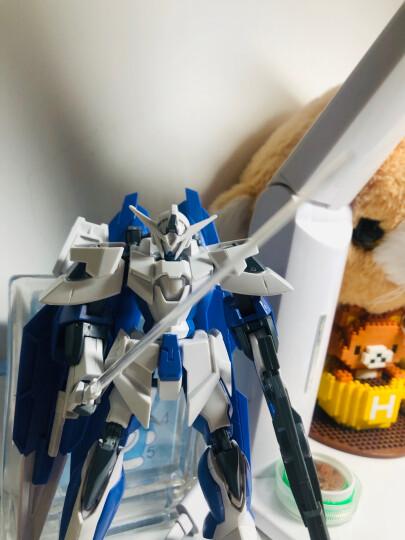 【动漫城】万代bandai hg00高达 1/144拼装敢达模型 玩具 65 正义女神 晒单图