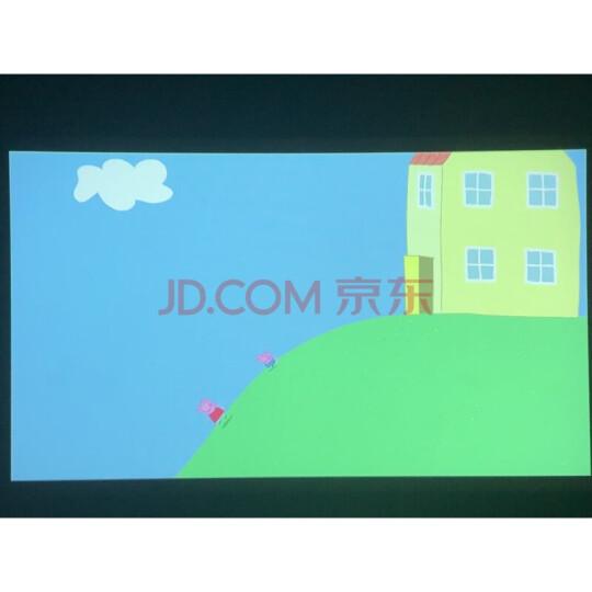 坚果投影仪P2 家用办公投影机便携式迷你全高清手机小型家庭影院投影电视3D智能微型电影机 【商务出行套装】 晒单图