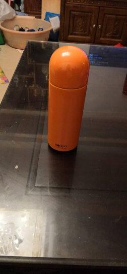 哈尔斯(HAERS) 哈尔斯保温杯女不锈钢NONOO水杯学生男 橘子橙 200ml 晒单图