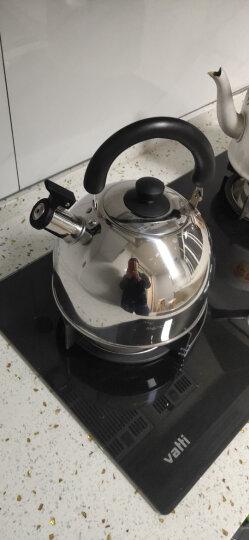 美厨(maxcook)烧水壶304不锈钢水壶 4L加厚鸣音 煤气电磁炉通用 乐厨系列 MS004Y 晒单图