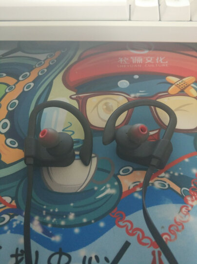 击音【触控级】挂耳式运动游戏蓝牙耳机|男女分款 跑步无线防水全触摸入耳式联想iGene TouchSport男款 黑色 晒单图