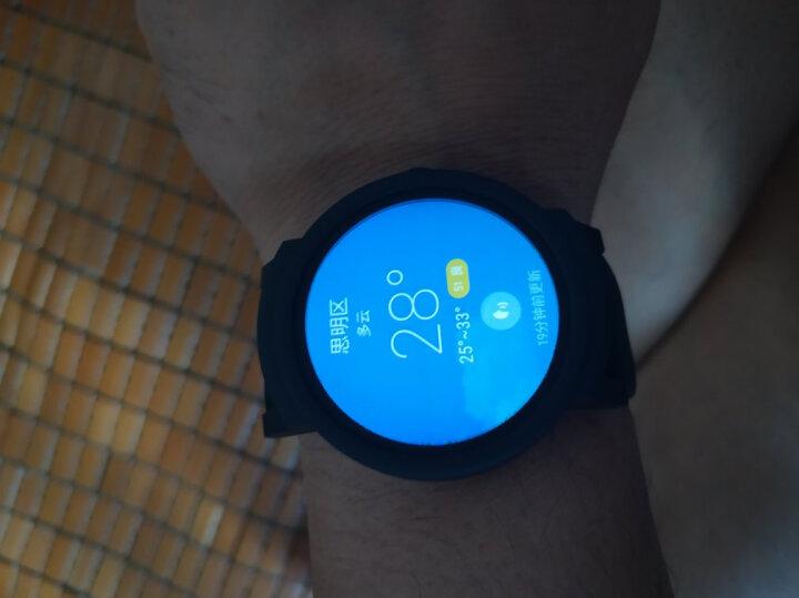 【TicWatchS 运动系列】智能手表联通版 3G独立通话GPS运动轨迹心率蓝牙消息推送NFC支付 峭壁黑 晒单图