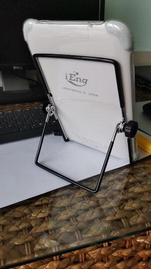 毕亚兹 金属平板电脑支架 黑色 桌面 懒人可调节 多功能视频直播架子 适用于平板电脑 通用 B4-大号 晒单图