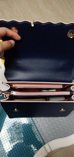 纽芝兰女包2020新款手提包ins单肩包女时尚百搭小方包斜挎韩版女士包包 149 蓝色B版(无隔层版) 镇店爆款 晒单图