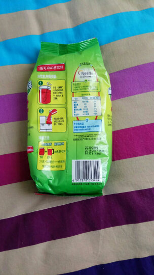 雀巢(Nestle)【每2份减5元】雀巢Nestle果珍果维C速溶固体饮料冲调果汁粉餐饮袋装夏季饮品 芒果味1kg 晒单图