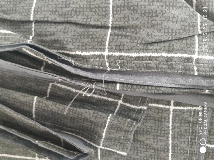 九洲鹿 被芯家纺 加厚保暖羽毛被 全棉面料 双人棉被秋冬被子被褥盖被 6斤 200*230cm 晒单图