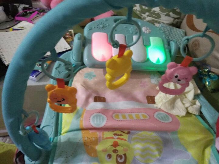 源乐堡(YuanLeBao)新生儿0-6月摇铃婴儿玩具健身架儿童脚踏琴早教机男女孩礼物宝宝0-1岁 0辐射升级10万内容可连接手机播放【充电版】 晒单图