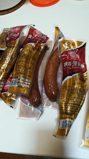 秋林里道斯 哈尔滨红肠110g*10根 休闲零食小吃火腿肠 晒单图