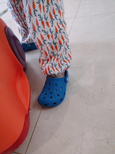 Crocs卡骆驰童鞋 儿童瑞伦小克骆格塑模洞洞鞋男女童宝宝鞋沙滩凉鞋/15908 辣椒红-6EN 35(215mm) 晒单图