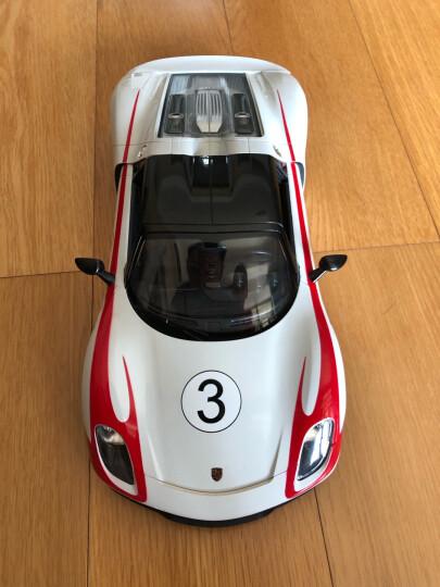 星辉(Rastar) 遥控车 1:14保时捷918赛车版外置USB充电可漂移跑车男孩儿童玩具车模型70770-1白色 晒单图