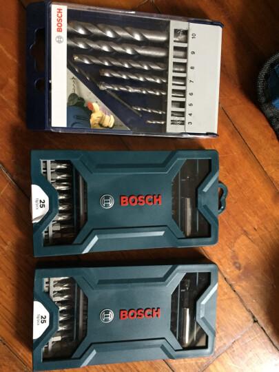 """博世(BOSCH )25支""""X""""型盒装螺丝批头(蓝色)【6949509201225】 晒单图"""