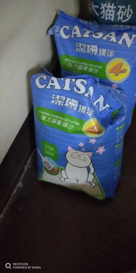 洁珊(Catsan) 猫砂 膨润土猫砂2.5kg 低尘除臭猫咪猫沙 3L 晒单图