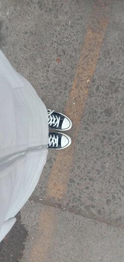 环球(HUANQIU) 经典情侣款帆布鞋 高帮韩版休闲鞋 纯色系带学生女鞋男鞋子 【女款】水绿 【女款】37 晒单图