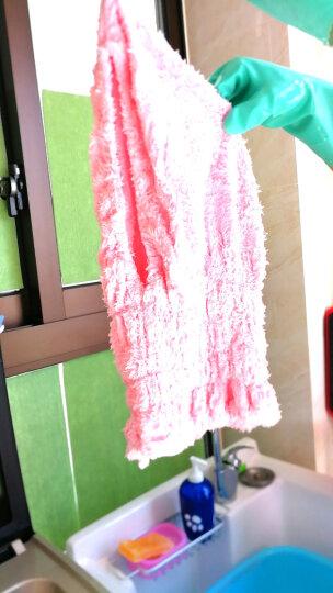 家至宝 超萌兔耳干发帽 出口日本 吸水干发 成人儿童款 超细纤维舒棉绒 短发深粉   JC-602 P 晒单图