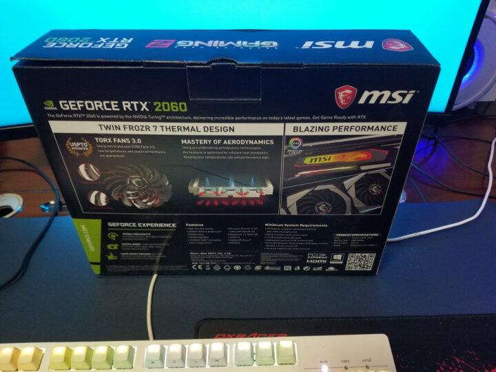 微星(MSI)GeForce GTX 1060 飙风 6G 1759-1544MHz GDDR5 192BIT PCI-E 3.0 吃鸡显卡 晒单图