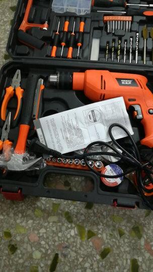 欧莱德冲击钻家用工具箱手电钻多功能两用电锤组合维修套装 冲击钻100套装 晒单图
