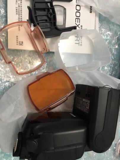 佳能(Canon) 原装外接/外置闪光灯/原厂电池盒手柄/适用于EOS数码单反相机 600EX II-RT闪光灯 晒单图