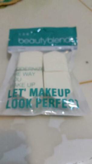 BLD贝览得粉扑海绵干湿两用粉扑化妆棉加厚粉底bb霜定妆化妆工具 八片三角组合 晒单图