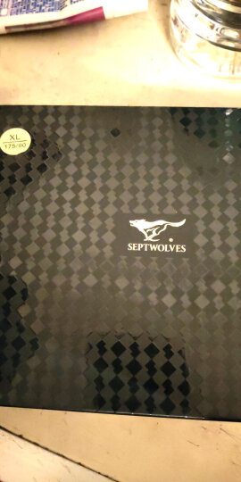 七匹狼男士内裤 男款兰精黏纤透气平角裤礼盒装 D7002-4 XL 四条 晒单图