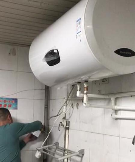 阿里斯顿(ARISTON)100升家用电热水器3000W双管速热 可预约洗浴 RC100E3.0AG 晒单图