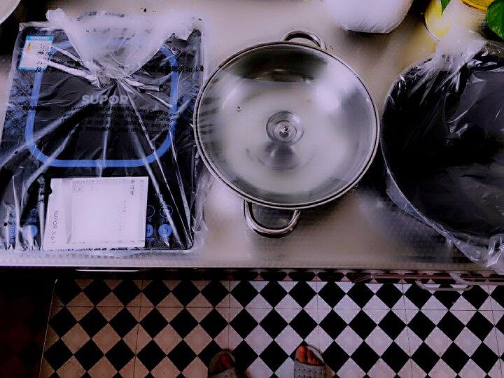 苏泊尔(SUPOR) 电磁炉 家用大功率电池炉电磁灶电磁锅超薄触控静音多功能火锅正品特价 SDHCB8E45-210S 晒单图