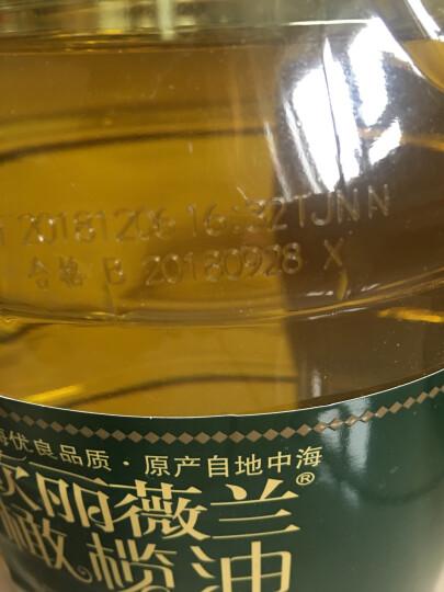 欧丽薇兰 Olivoilà 食用油 压榨纯正橄榄油5l(产品升级,新老包装随机发货) 晒单图