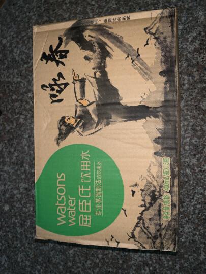 屈臣氏(Watsons)饮用水(蒸馏制法)百年水品牌 旅行聚会必备  400ml*15瓶 整箱装 京东专供定制款 晒单图