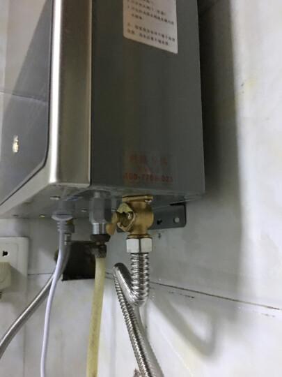 志高(CHIGO)家用 燃气热水器天然气液化气恒温 低水压启动防冻大水量煤气【质保6年】 12升高配升级变频恒温上门安装 天然气 晒单图