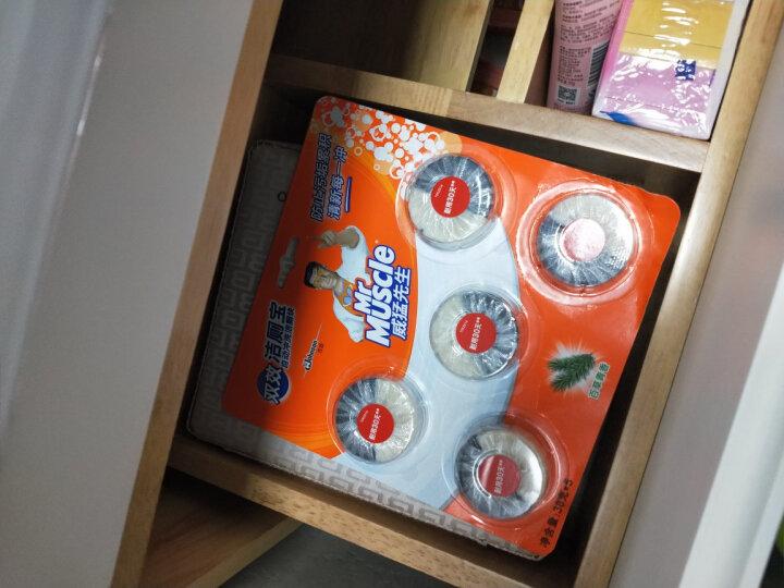 威猛先生 洁厕块 十块装 清新青柠檬 38g *10 洁厕宝 蓝泡泡 马桶 清洁 除臭 去味【新老包装随机发货】 晒单图