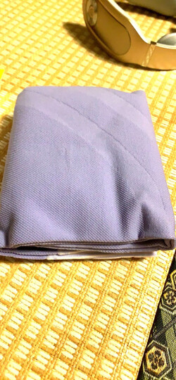 爽健(DrScholl) 睡眠塑型瘦腿袜 柔软棉质亲肤舒适 薰衣草紫  L码 晒单图