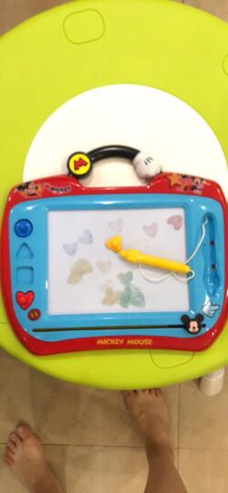 迪士尼(Disney) 彩色涂鸦板米奇 儿童磁性学习画板宝宝写字板幼儿绘画工具儿童玩具(古部涂鸦板玩具)38DF1868 晒单图