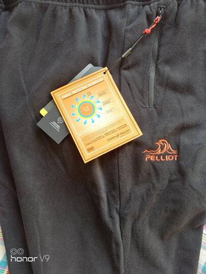 伯希和(Pelliot) 伯希和PELLIOT户外抓绒裤 男女保暖休闲裤1768 女灰色 S 晒单图