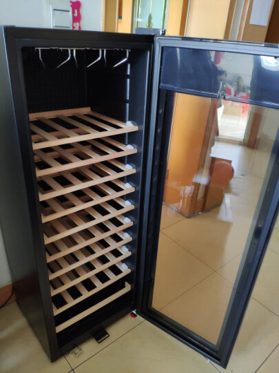 蒂朵(Diduo) BJ-508红酒柜恒温酒柜子家用压缩机葡萄酒茶叶冷藏保鲜冰箱冰吧冰柜小型储藏柜 黑色C型 晒单图