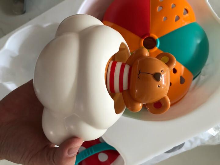 德国(Hape)儿童玩具洗澡玩具8件套装婴幼儿宝宝戏水玩水浴室玩具小孩生日礼物泰迪戏水套 1岁+ suit0030 晒单图