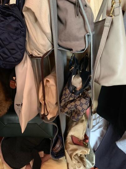 青苇 西服防尘罩 透明可水洗衣物收纳袋 1大2中2小 晒单图