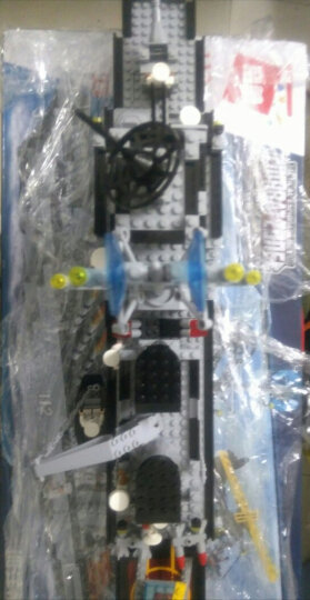 启蒙(ENLIGHTEN)拼装积木儿童玩具立体拼插军事系列0.7米大型巡洋舰112男孩礼物6-8-12岁 晒单图