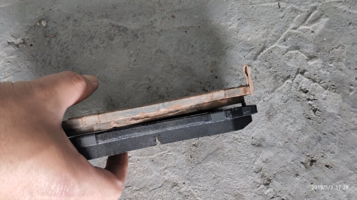博世刹车片/制动皮 后片 两轮 众泰T600 非电子手刹 晒单图
