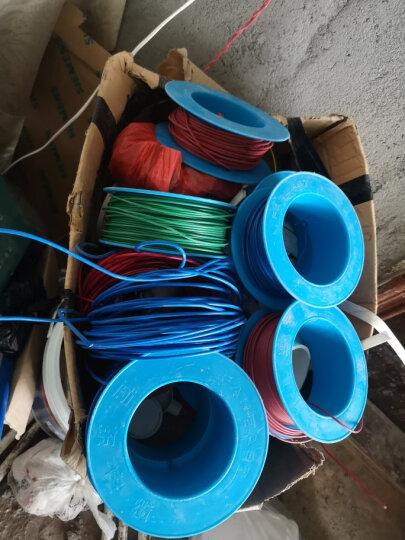 远东电线电缆(FAR EAST CABLE)BV1.5平方 国标家装用单芯单股铜芯电线盘装【硬线】 精装双色 100米 晒单图