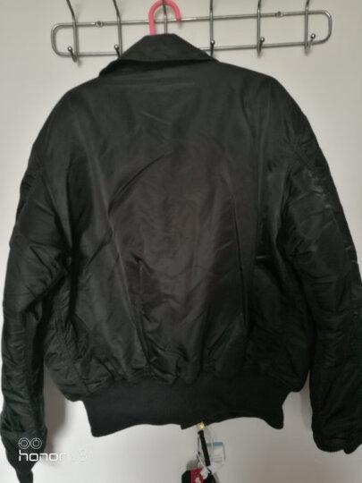 ALPHA INDUSTRIES 阿尔法工业CWU-45P飞行夹克 加厚棉衣棉服 黑色/ M 晒单图