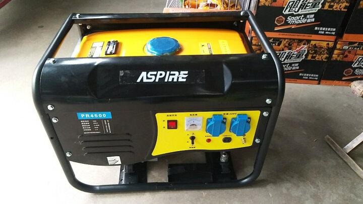 ASPIRE 4/5/6/8KW小型汽油发电机 220V家用4千瓦单相220V发电机 新升级1kw手启动+烧汽油220v 晒单图