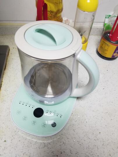 康佳(KONKA)养生壶1.8L玻璃烧水壶304不锈钢发热盘电水壶煮茶壶 带不锈钢过滤网 KHK-1809(Z)T 晒单图
