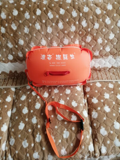 浪姿(LangZi) 浪姿跟屁虫 L903 第四代双气囊游泳浮漂跟屁虫游泳包 橙色 晒单图